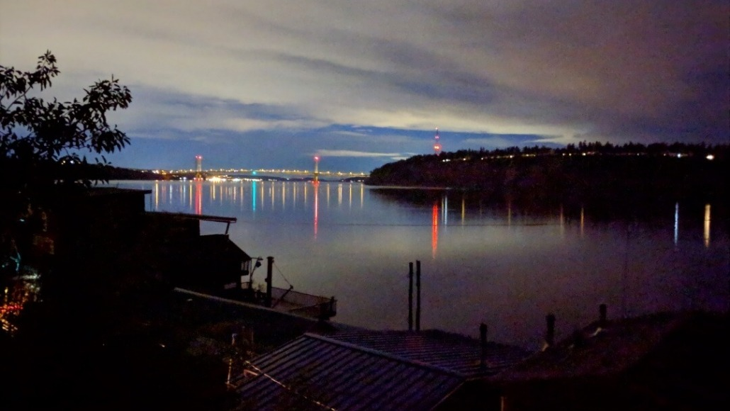 Night on the Tacoma Narrows