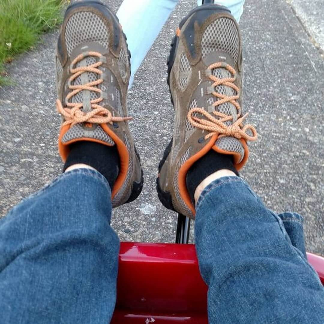 #theunselfieproject A ride in my daughter's little red wagon in Aug 2015