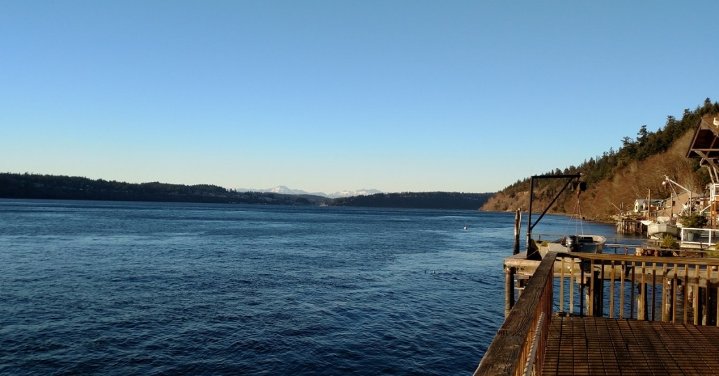 The view north off Salmon Beach. My happy place - and much of the inspiration or my poetry