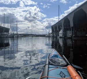 Tragedy on Calm Water. kayaking out of the Des Moines Marina