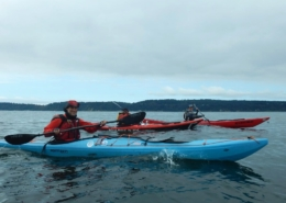 Sea Kayaking from Mukilteo Lighthouse to Possession Point - photo by Mandy Lynn