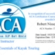 Robert Nissenbaum's ACA L2 EKT Sea Kayak Instructor certification