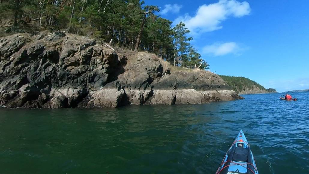 A picturesque day 2 sea kayaking in the San Juan Island group